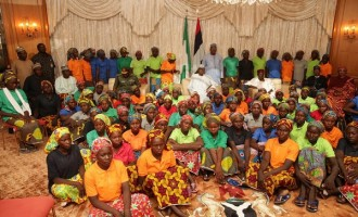 Buhari approves N164.7m fees for Chibok girls studying in Atiku's school