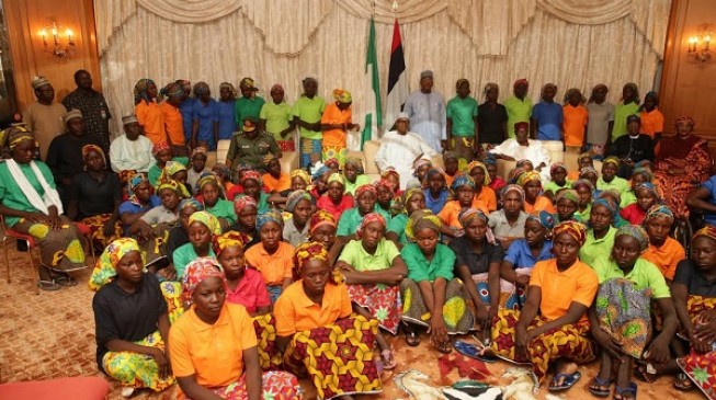 Buhari approves N164.7m fees for Chibok girls studying in Atiku's school