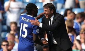 Conte on FA Cup final: Moses was tired, he didn't dive intentionally