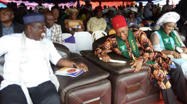 Okorocha tips AMCON director to succeed him in 2019