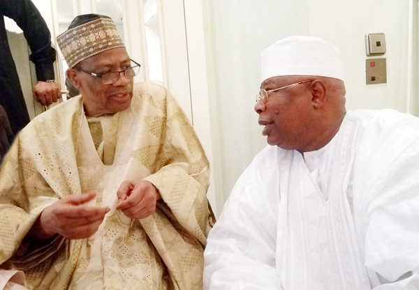 HALIMA, IBB'S DAUGHTER MARRIES IN MINNA (1)