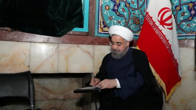 Rouhani re-elected as Iran's president