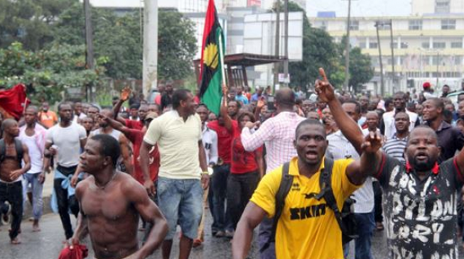 'One killed' as IPOB members clash with security agents in Anambra