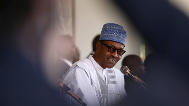 What is happening to Buhari?