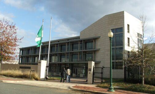 Nigeria protests US secret service violation of Washington embassy