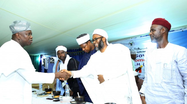Ambode thanks Muslims for standing by him