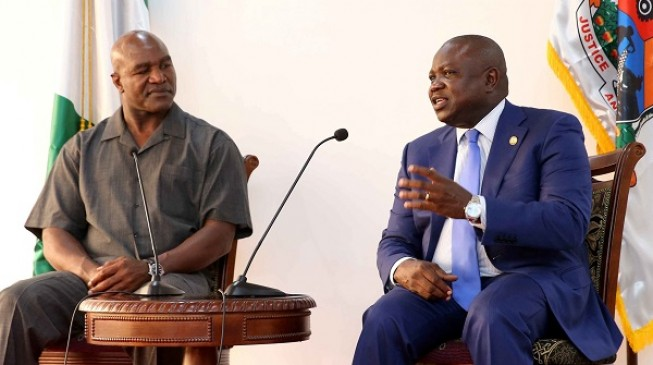 Holyfield: I want to teach Nigerian kids how I became a heavyweight champion