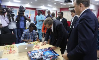 US envoy unveils first state-of-the art American space in Nigeria