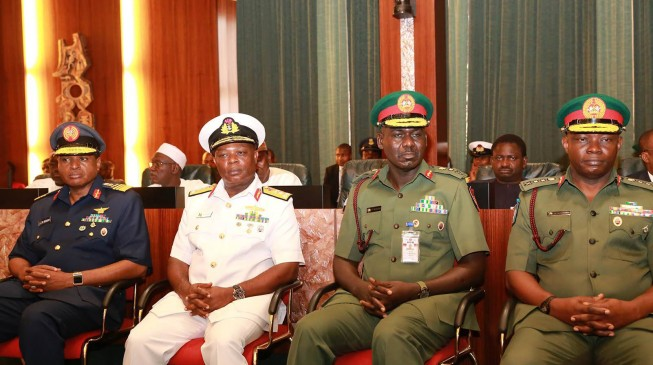 Service chiefs meet in Aso rock