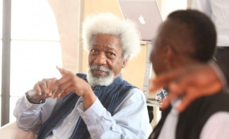 Soyinka to Sahara Reporters: Be careful now that people know where to find you