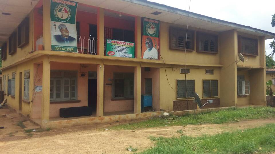 The constituency office which doubles as the ICT Centre