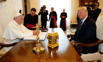 Trump meets ardent critic Pope Francis at the Vatican