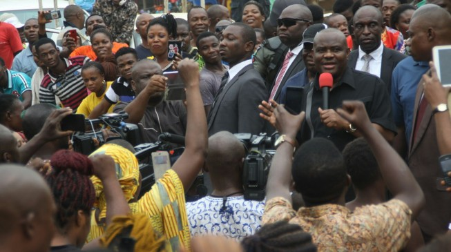 Women free to contest any position in Rivers, says Wike