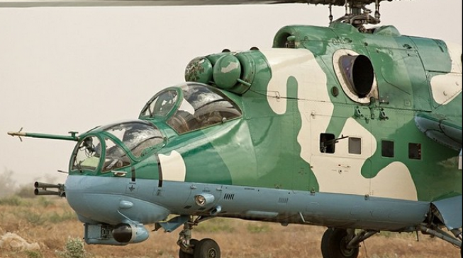 Air force helicopter crashes during operation against Boko Haram