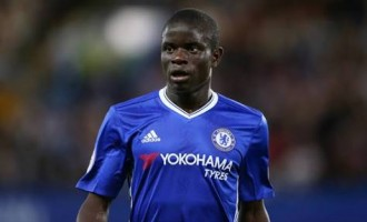 Kanté named Football Writers' player of the year