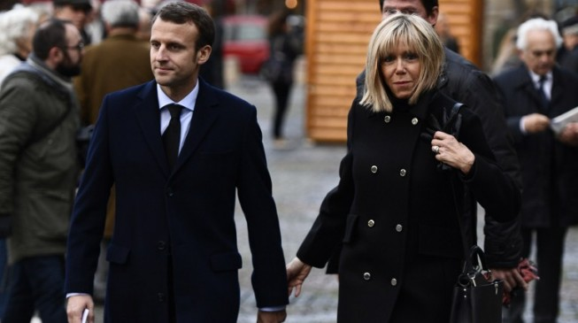 Berlusconi calls Macron's 64-year-old wife 'a beautiful mum'