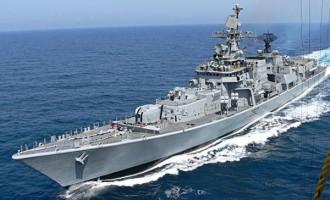 Indian warship arrives Lagos next week
