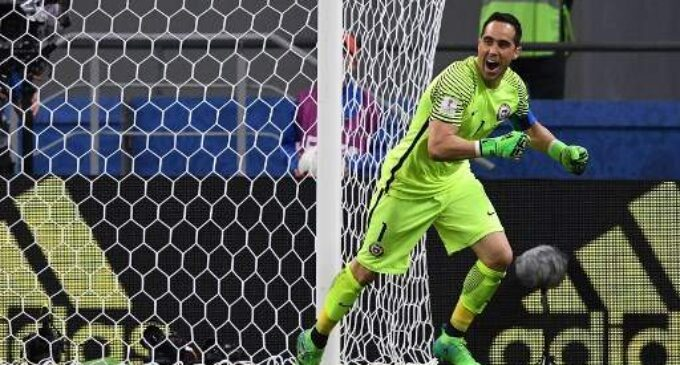 Bravo's heroics take Chile into Confederations Cup final