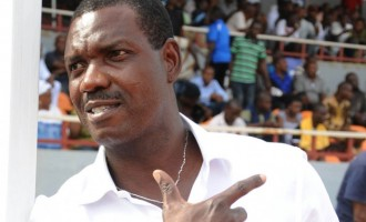 I resigned because of bad referees, says ex-Sunshine coach Eguavoen