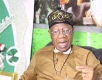 Lai: We pumped money into the system to help Nigeria exit recession