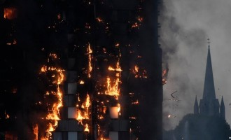 Six dead as massive fire engulfs London tower block (updated)