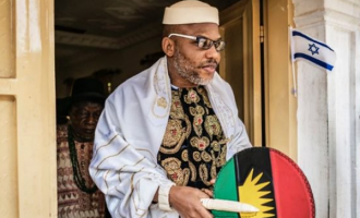 Nnamdi Kanu: Arrest warrant means nothing to me