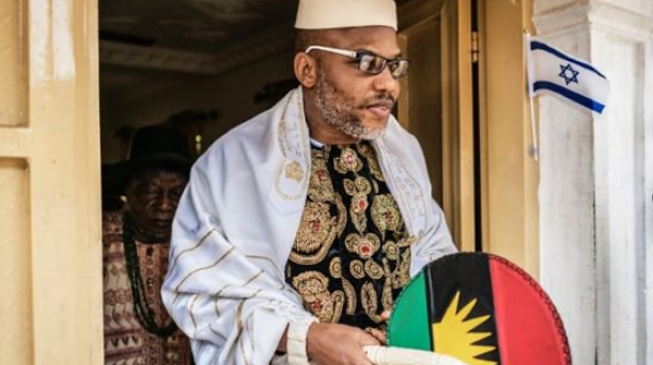 Nnamdi Kanu calls off election boycott, asks Igbo to vote en masse on Saturday