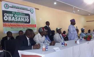 Obasanjo backs Ortom for second term