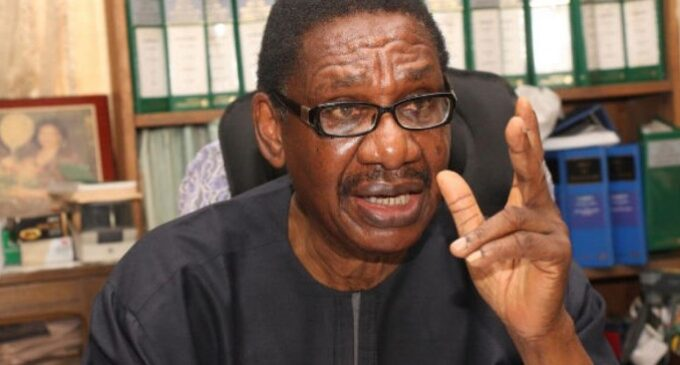 Sagay: Malami is a politician — he won't let Bawa succeed
