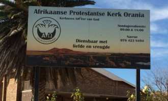 South African church bars blacks