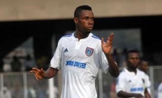 VAT Wonder Goal: Akwa United striker Ubong Friday wins award