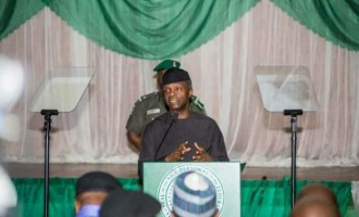 Osinbajo: Our refineries don't work because they are owned by government