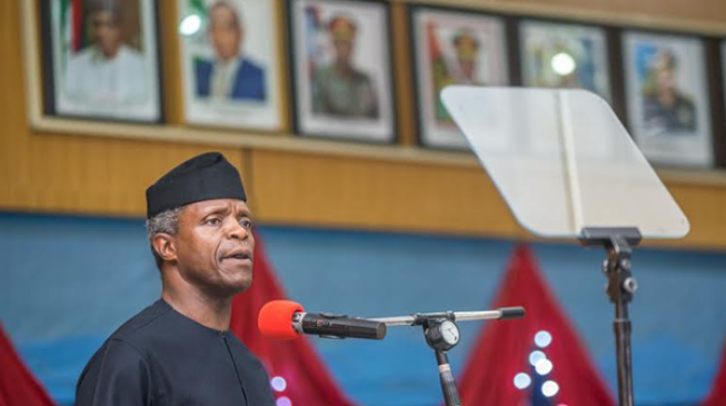 Fake news now influences outcome of elections, says Osinbajo