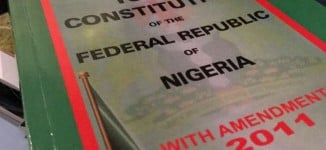 Nigeria: Ethics of supporting a sham 1999 constitution