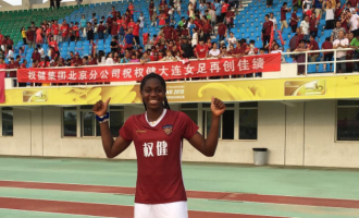 Oshoala: For the first time in my career, I feel like a professional footballer