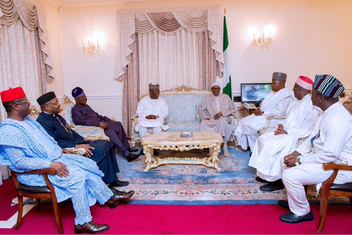BUhari and governors1
