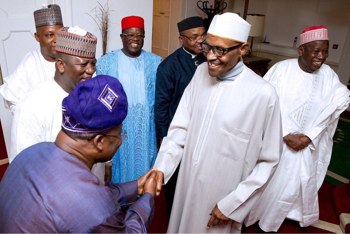 BUhari and governors2