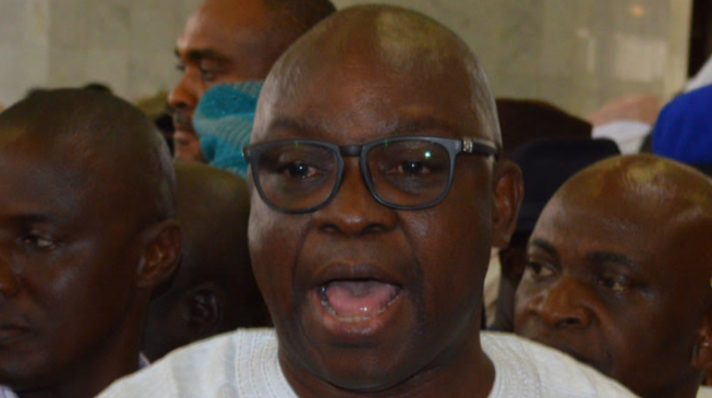 'Unrepentant ethnic champion' — Fayose blasts Buhari over new NIA DG