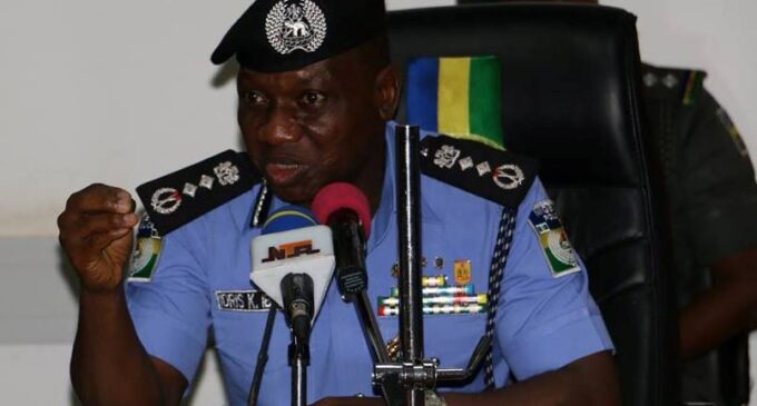 IGP: My heart troubled over security challenges