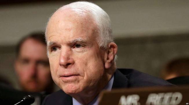 John McCain, US senator and war hero, dies at 81