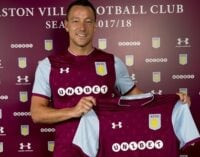 John Terry joins Aston Villa on one-year contract