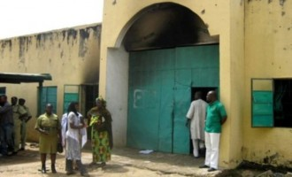 Fire outbreak at Kuje prison