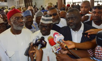 Senators attempting to remove Saraki are ignorant, says Makarfi