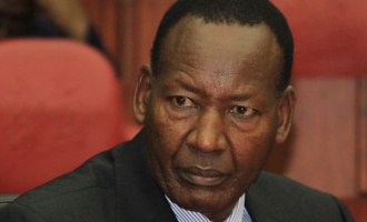 Kenya's interior minister dies in hospital