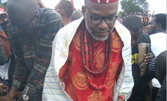 Abia CP: We recovered weapons from Kanu's residence