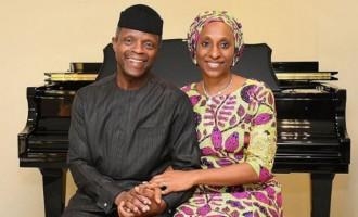 'My treasure, my wings' — Osinbajo writes emotional note to wife on 50th birthday