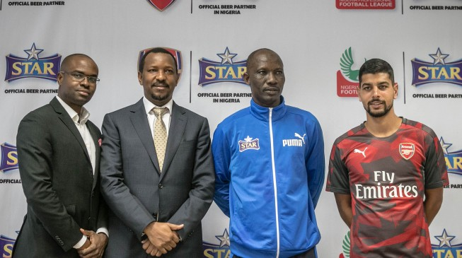 Star Lager gives back to Nigerian league through coaching clinic