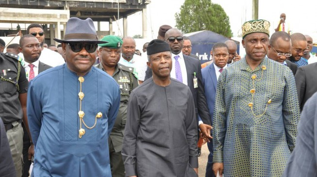 Osinbajo brings Wike, Amaechi 'together'