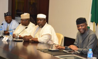 Osinbajo currently meeting APC govs