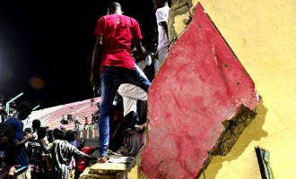 Eight dead after wall collapses at stadium in Senegal